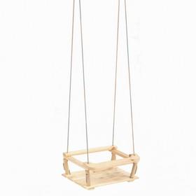 Качели подвесные, деревянные 30*40 см Ош
