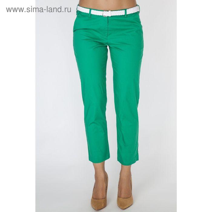 Брюки женские P3220 цвет зеленый, размер  M(46)