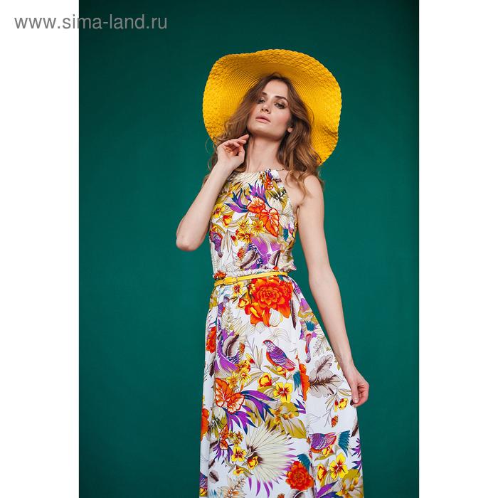 Платье женское D3217 цвет лиловый, размер  M(46)
