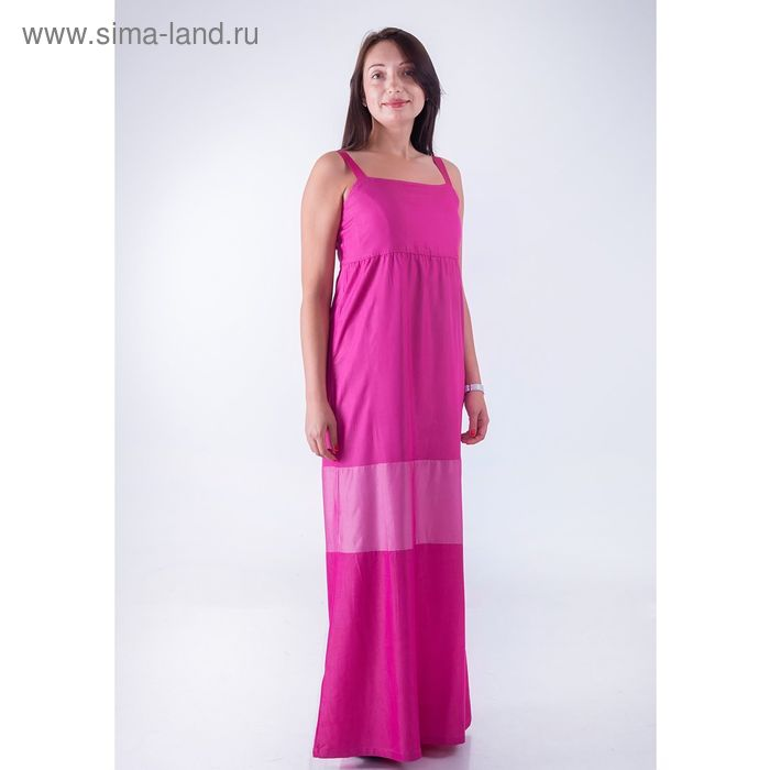 Сарафан женский D15-532 цвет розовый, размер  M(46)