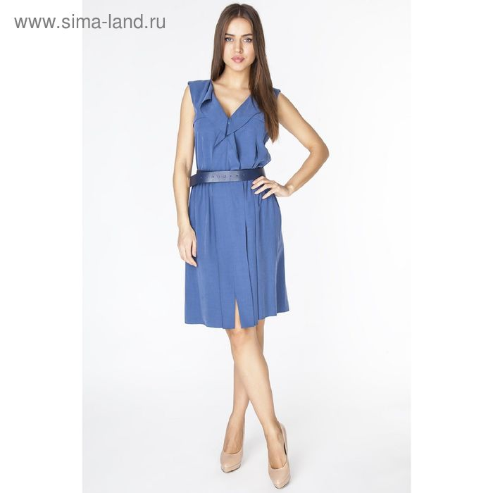 Платье женское D3133 цвет синий, размер  S(44)