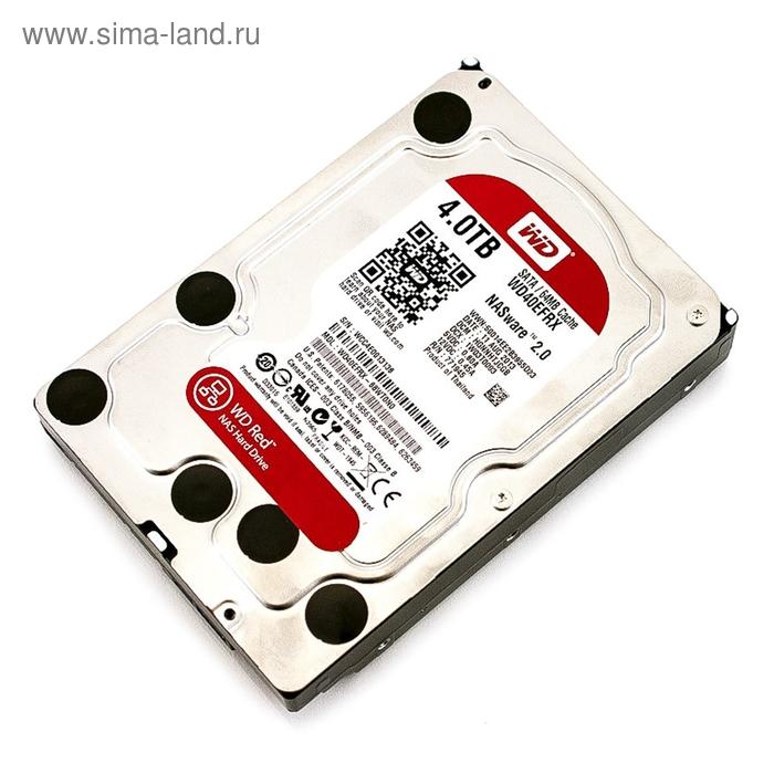 Жесткий диск WD Original SATA-III 4Tb WD40EFRX Red