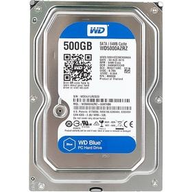 Жесткий диск WD Original SATA-III 500Gb WD5000AZRZ Blue Ош
