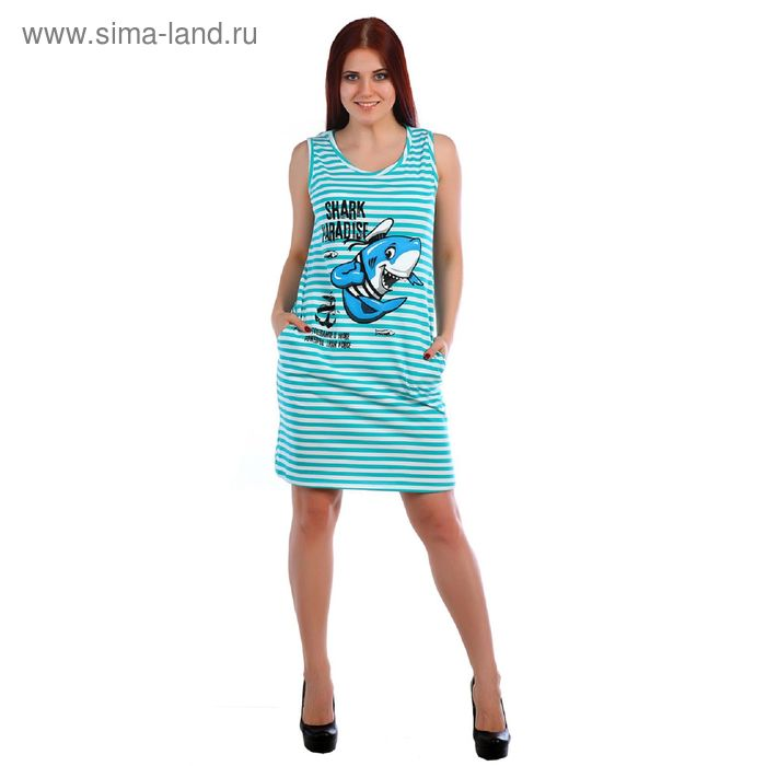 Туника женская, цвет МИКС, размер 44 (арт.Т-139)