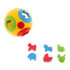 Развивающая игрушка-сортер «Умный малыш Шар-2», МИКС