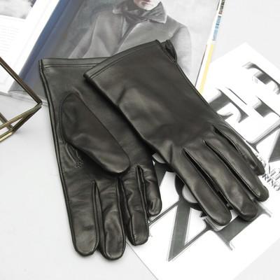 Перчатки мужские, модель №359, материал - овчина, без подклада, р-р 25, чёрные