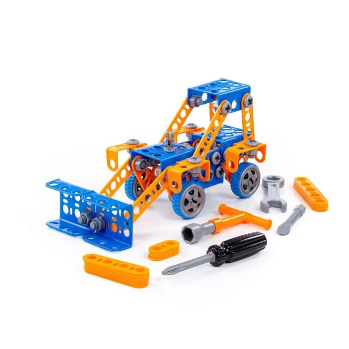 """Конструктор """"Изобретатель. Трактор-погрузчик №1"""", 141 деталь"""