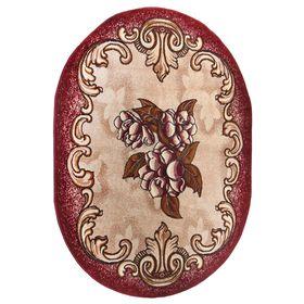 Ковер Золушка, размер 150х205 см, овальный 038/04