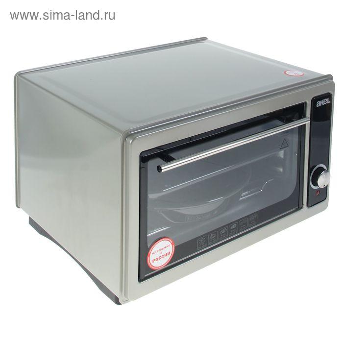 Электрическая духовка Akel AF-710, 36 л, 1300 Вт, металлик