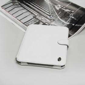Чехол-книжка Time для планшета, универсальный, размер G, цвет белый