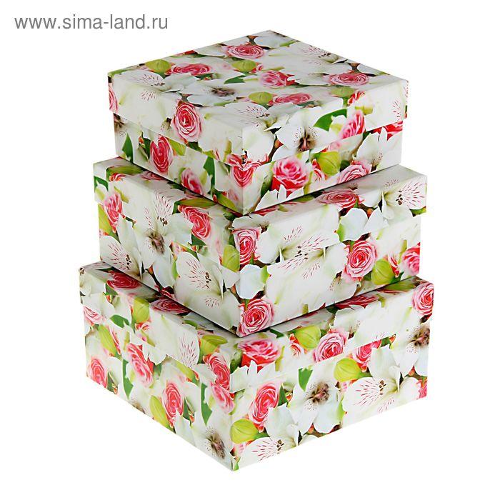 """Набор коробок 3 в 1 """"Цветы яблони"""""""