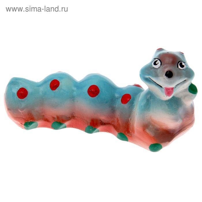 """Садовая фигура """"Гусеница"""" малая, микс"""