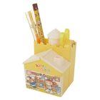 Набор настольный детский Домик 6 пред (2чгр карандаша+линейка+точилка+ножницы) МИКС