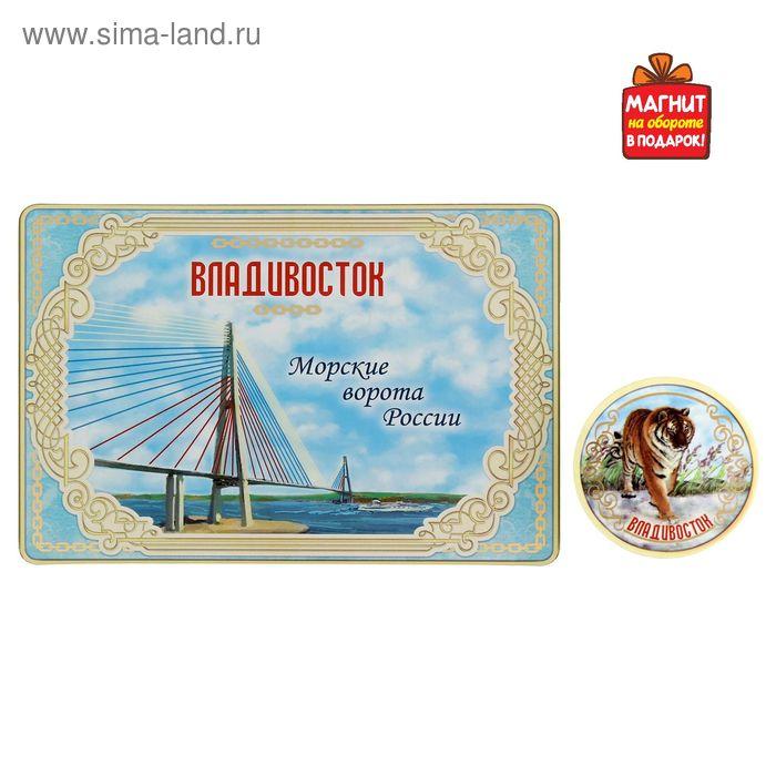 """Открытка с магнитом """"Владивосток"""""""