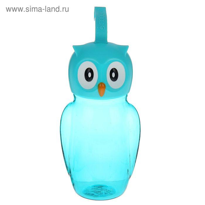 """Бутылка 7,5х8х16 см """"Сова"""", цвета МИКС"""