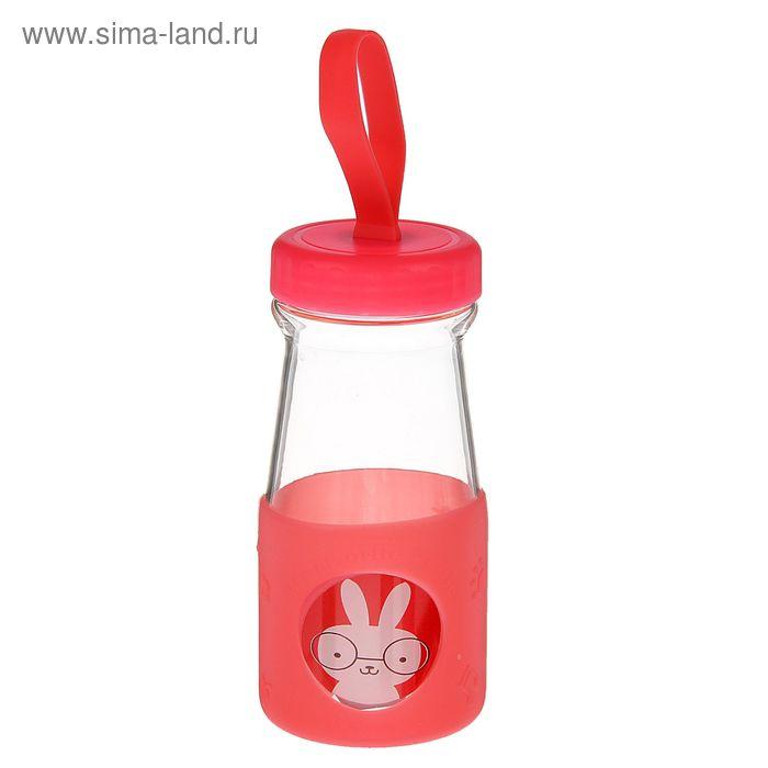 "Бутылка 310 мл ""Зверята"", 7х14 см, форма МИКС"