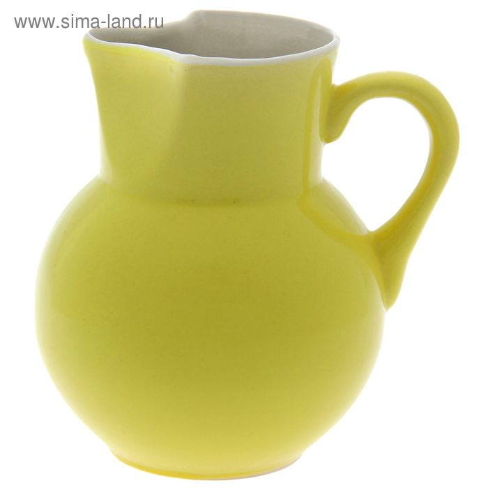 Кувшин 1,7 л желтый