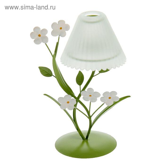 """Подсвечник """"Цветочный торшер"""", 20.5 см, 1 свеча"""