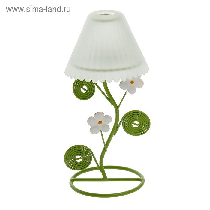 """Подсвечник """"Цветочный торшер"""" 22 см, 1 свеча"""