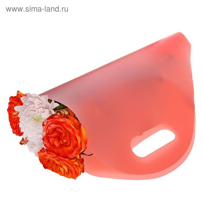 Упаковка для букетов и композиций 50 х 29 х 12 см, цвет розовый