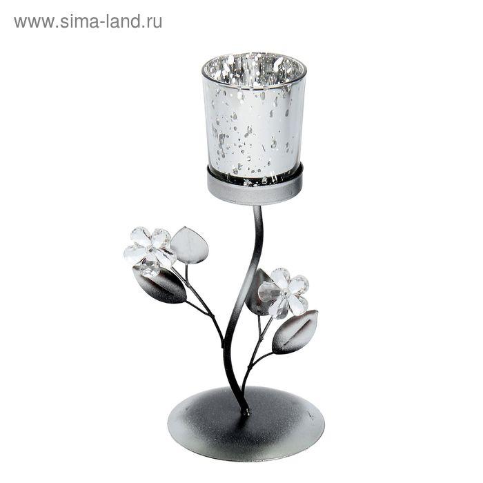 """Подсвечник """"Нежный цветок"""" 1 свеча"""