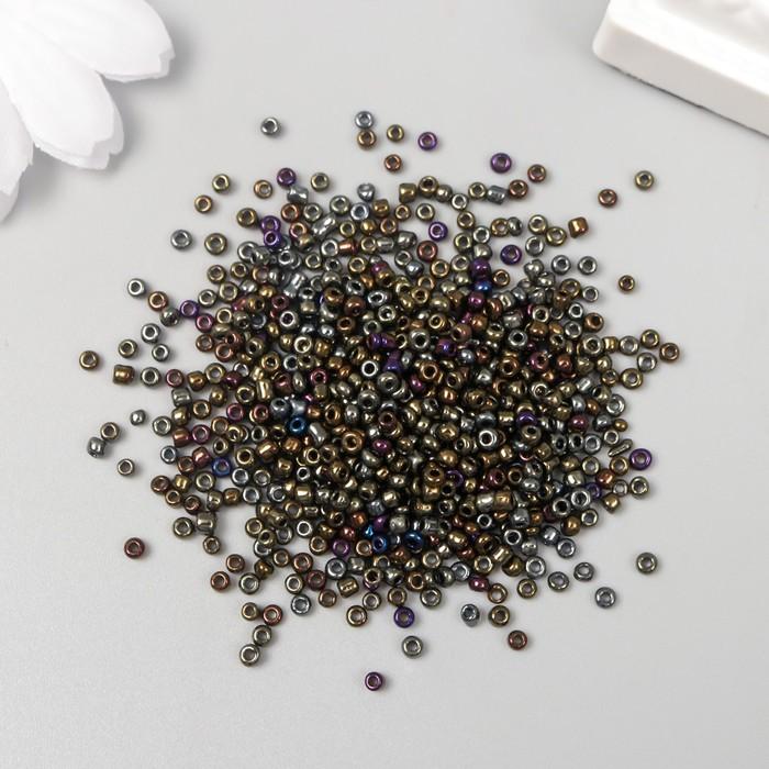 "Бисер круглый ""Маслина"", размер 12/0, 20 г"