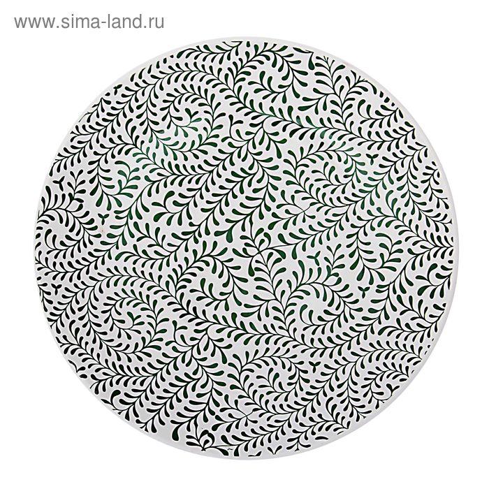 "Тарелка мелкая d=22 см ""Соната. Орнамент"", h=3 см"