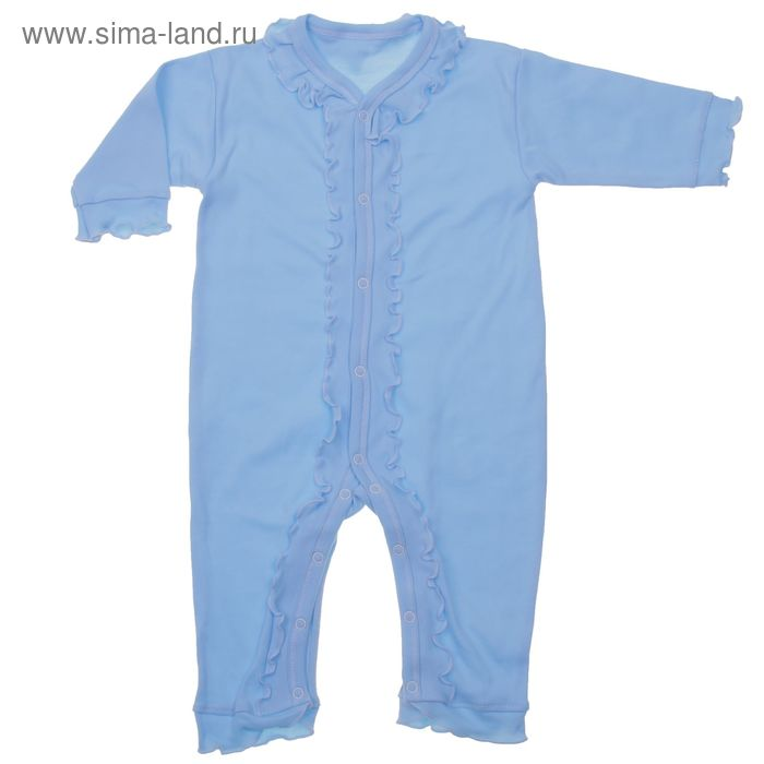 Комбинезон для мальчика, рост 62 см, цвет голубой (арт. Км-255-04)
