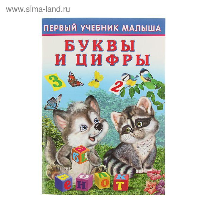 """Первый учебник малыша """"Буквы и цифры"""""""