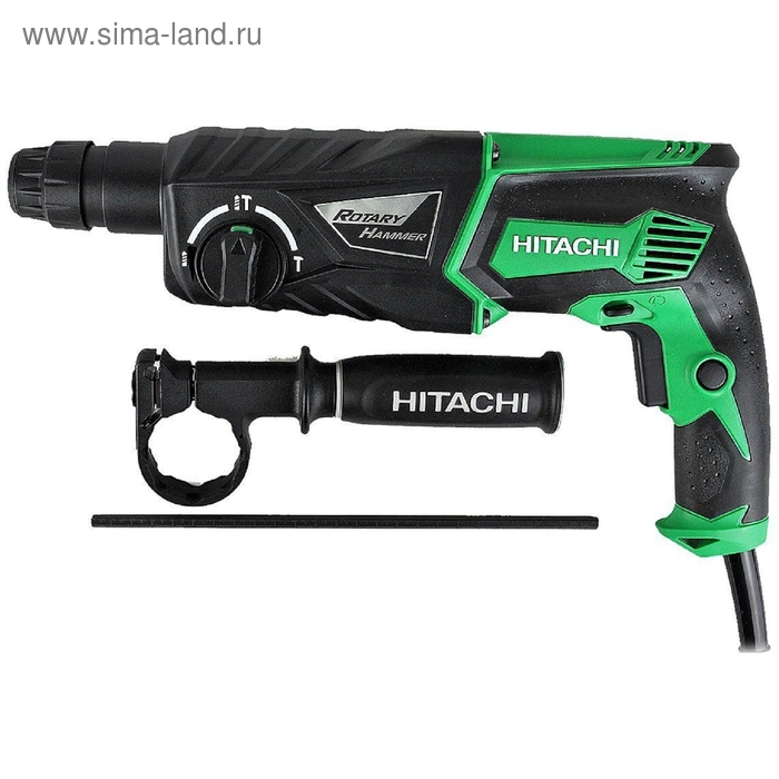 Перфоратор Hitachi DH26PC патрон:SDS-plus уд.:3.2Дж 830Вт (кейс в комплекте)