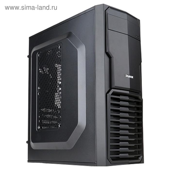 Корпус Zalman ZM-T4, черный, w/o PSU, mATX
