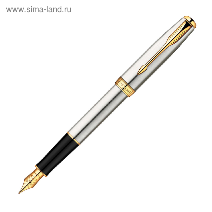 Ручка перьевая Parker Sonnet F527 (S0809110) St. Steel GT (F)