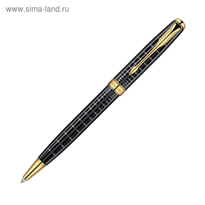 Ручка шариковая Parker Sonnet K531 (S0912470) Dark Grey GT (M) чернила: черный