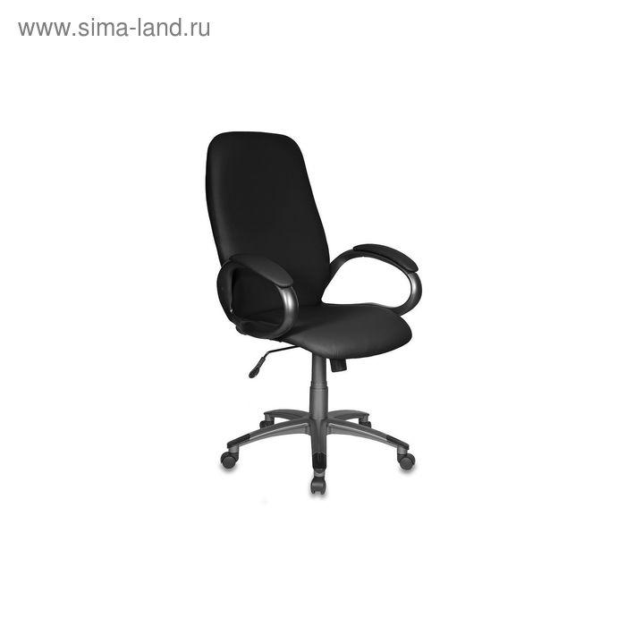 Кресло руководителя T-700DG/OR-16 черный, искусственная кожа