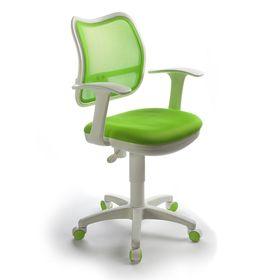 Кресло CH-W797/SD/TW-18 спинка сетка салатовый, сиденье салатовый
