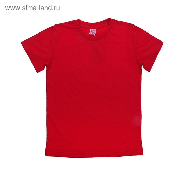 Футболка для мальчика, рост 92 см (52), цвет красный (арт. CAK 6930)