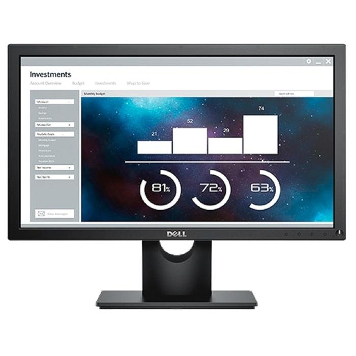 "Монитор Dell 19.5"" E2016H, черный"