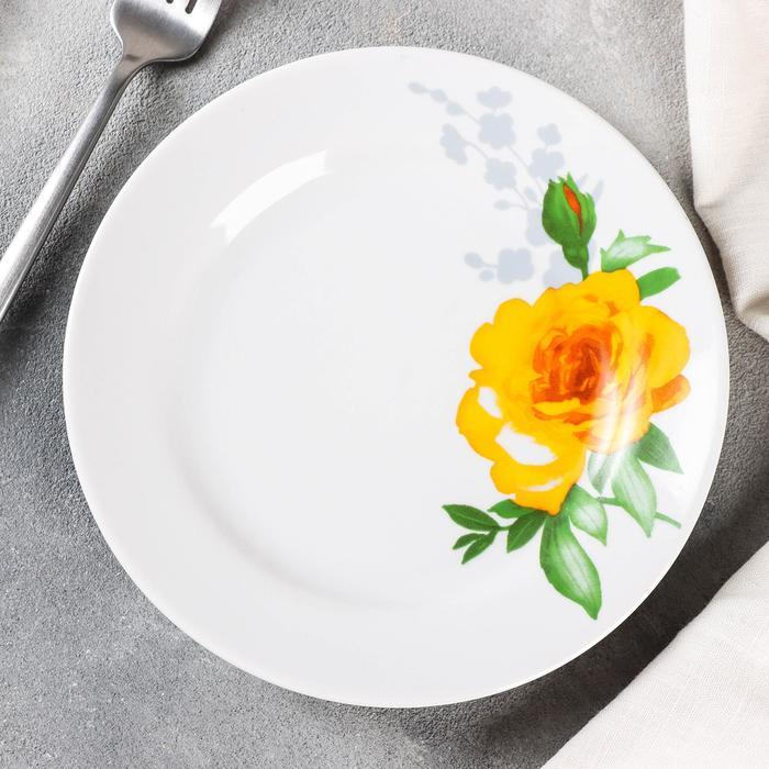 """Тарелка мелкая d=17,5 см """"Роза"""""""