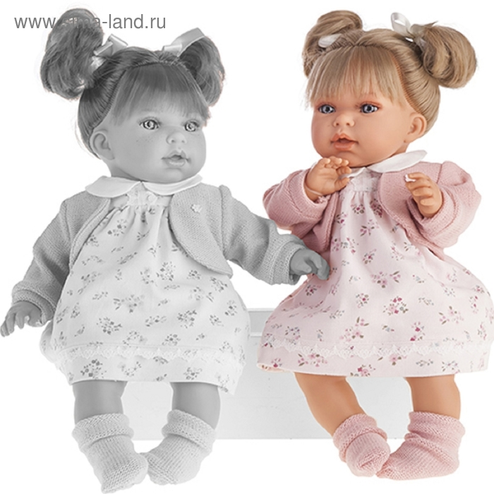 """Кукла """"Лорена"""" в розовом, озвученная"""