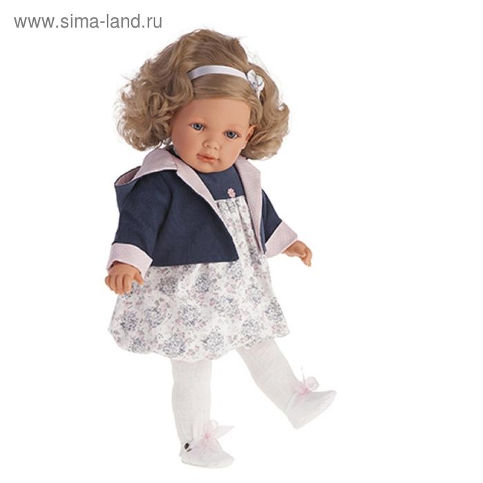 """Кукла """"Аделина"""" в синем"""