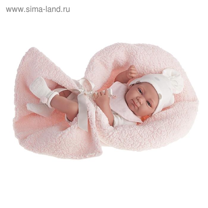 """Кукла-младенец """"Оливия"""" в розовом"""