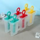 """Форма для мороженого """"Симпл"""", 6 ячеек, цвета МИКС"""