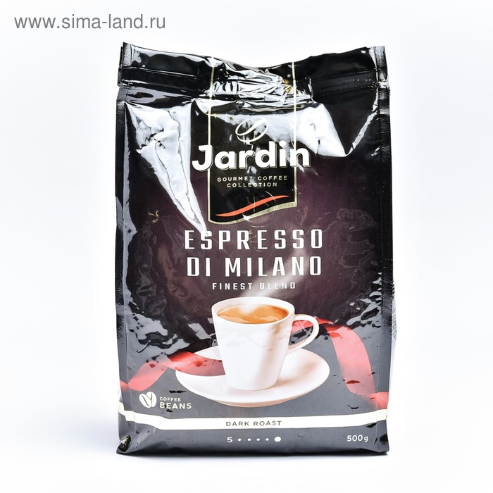 Кофе JARDIN Espresso style di Milano зерно 500 гр.