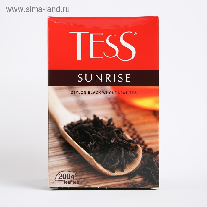 Чай Tess Sunrise, black tea, 200 гр.