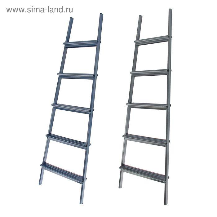 Лестница приставная, 5 ступеней, 1.5 м