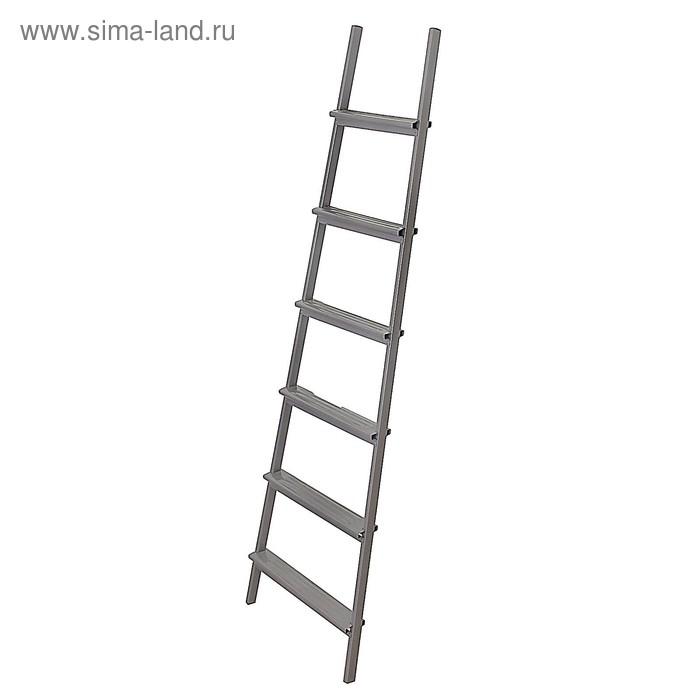 Лестница приставная, 6 ступений, 1.75 м