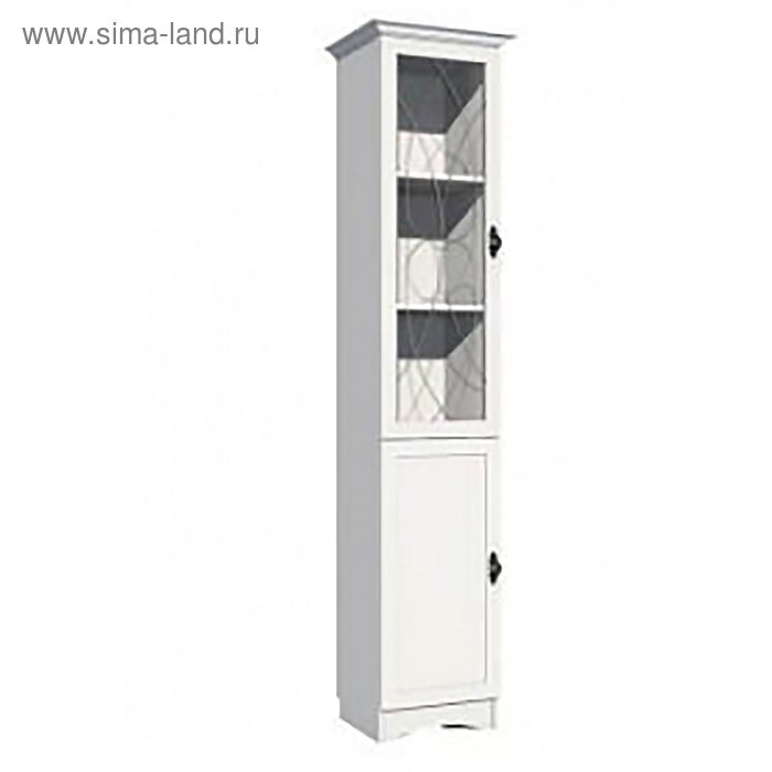 Шкаф для книг 466х416х2150 Белый