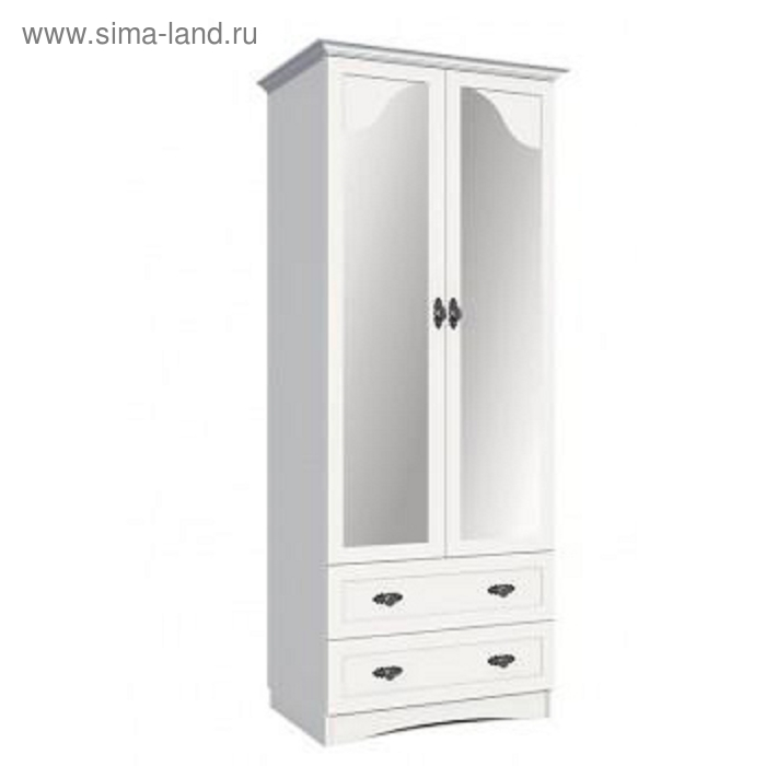 Шкаф для одежды 802х590х1890 Белый
