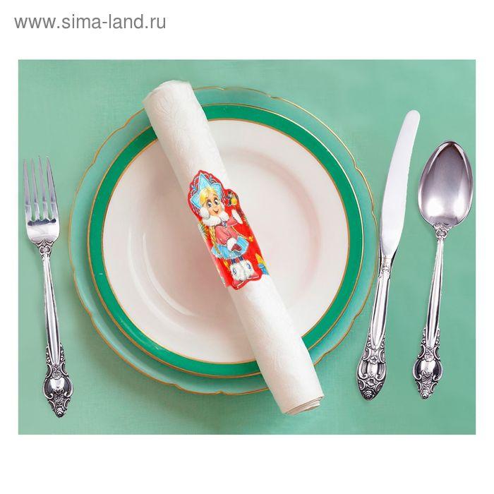 """Кольцо для салфеток """"Снегурочка"""", 15 х 7 см"""