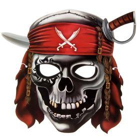"""Маска """"Череп пирата"""""""